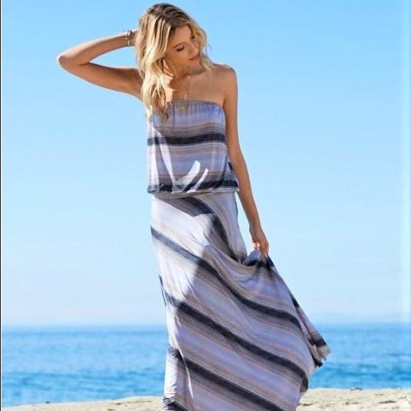 157ae0dcc2a0 Veronica M Dresses | Striped Maxi Dress Nwt | Poshmark
